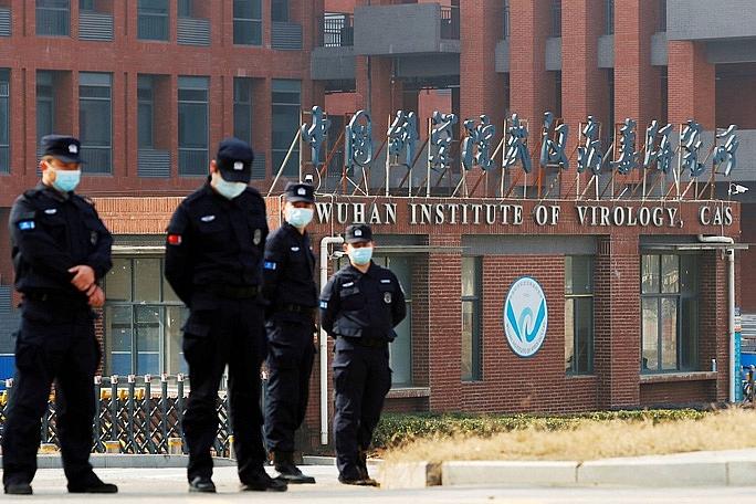 Viện Virus học Vũ Hán ở Thành phố Vũ Hán, Trung Quốc.