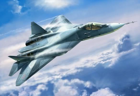 """Sức mạnh mới cho """"sát thủ bầu trời"""" Sukhoi T-50"""