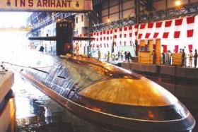 Chạy thành công lò phản ứng hạt nhân trên tàu ngầm Ấn Độ