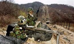Nổ mìn tại khu phi quân sự liên Triều