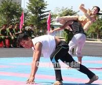 [Chùm ảnh] Những màn trình diễn võ thuật ấn tượng của học viên cảnh sát