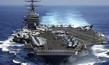 Mỹ điều 2 tàu sân bay tới bán đảo Triều Tiên?