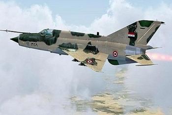 Không quân Syria phá hủy đoàn xe của IS ở Al-Suwayda