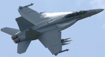 Tiêm kích F/A-18E Super Hornet của Mỹ gặp nạn