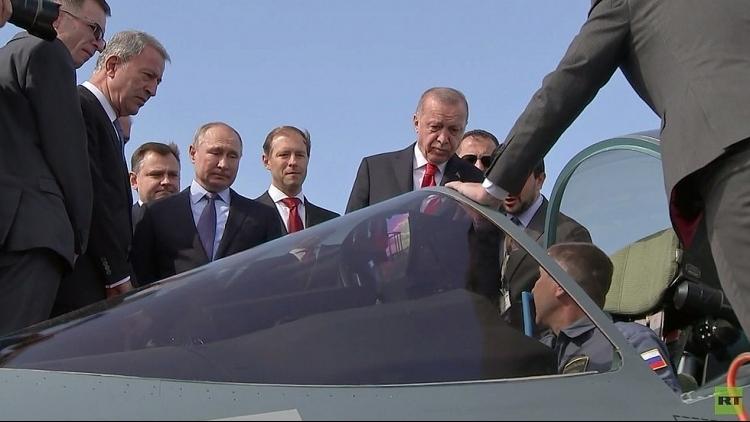 Nga và Thổ Nhĩ Kỳ thảo luận việc mua chiến đấu cơ Su-57
