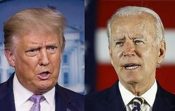 """Ứng viên Biden dẫn trước đương kim tổng thống ở 6 bang """"chiến địa"""""""