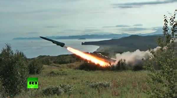 Video: Nga tập trận chống tên lửa hành trình