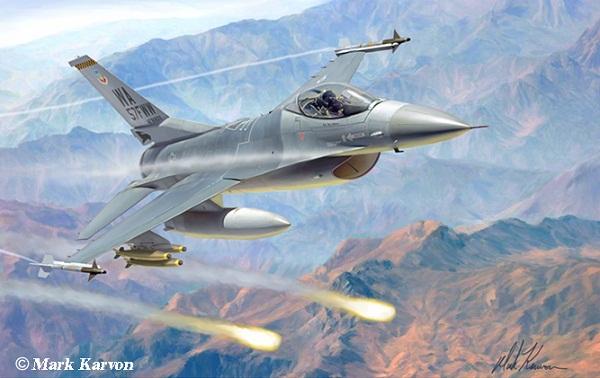 [Infographic] Sức mạnh tiêm kích đa nhiệm F-16 Fighting Falcon