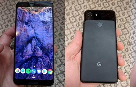 Ảnh thực tế rõ nét smartphone Pixel 3 của Google lần đầu bị lộ diện