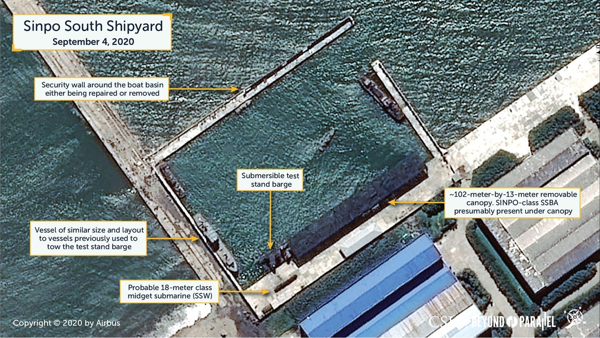 Triều Tiên sắp thử nghiệm tên lửa phóng từ tàu ngầm?