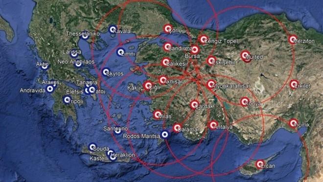 """Thổ Nhĩ Kỳ triển khai """"rồng lửa"""" S-400 trên khắp đất nước"""