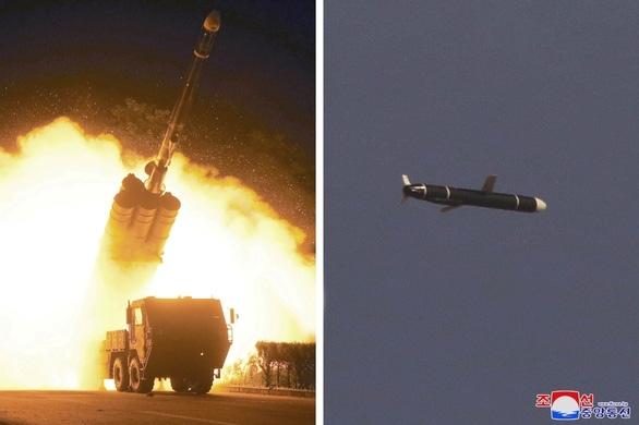 Hàn Quốc: Triều Tiên phóng 2 tên lửa đạn đạo ra Biển Nhật Bản