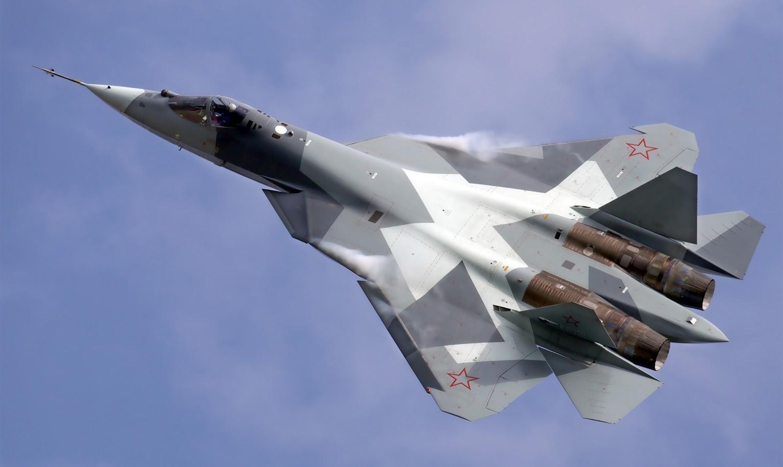 Nga thử nghiệm thành công nguyên mẫu Sukhoi T-50 thứ 5