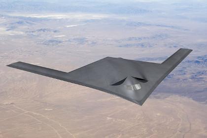 """Mỹ: """"Hai gã khổng lồ"""" hợp tác phát triển máy bay ném bom tầm xa"""