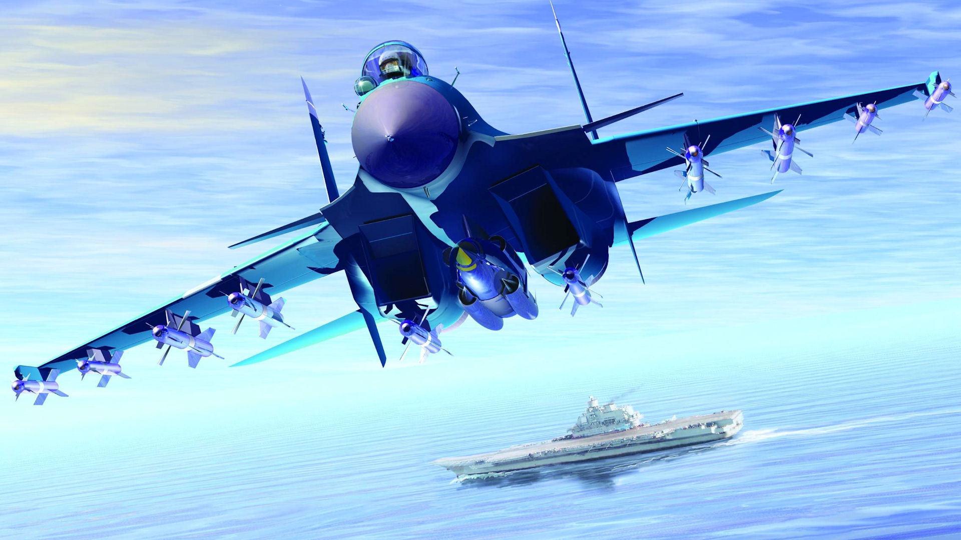 Khám phá sức mạnh tiêm kích hạm Su-33