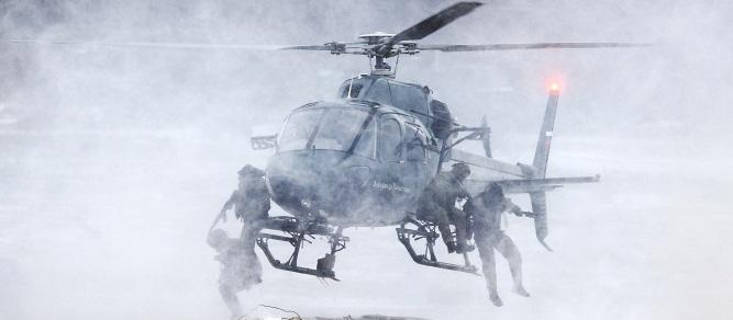[Chùm ảnh] Lính đặc nhiệm Nga phô diễn khả năng tại Interpolitex 2014