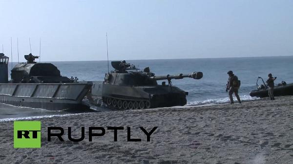 [VIDEO] NATO tập trận rầm rộ ở Địa Trung Hải