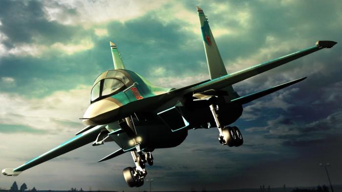 """[Chùm ảnh] Cường kích Su-34 - """"hung thần"""" ám ảnh IS"""