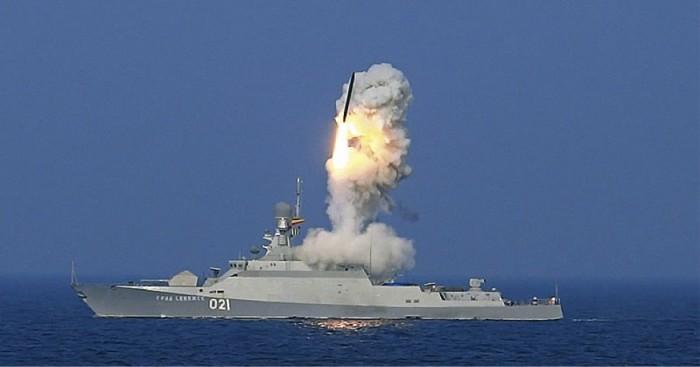 Nga tăng cường tàu hộ tống mang tên lửa hành trình Kalibr