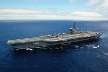Mỹ điều tàu sân bay tập trận chung với Hàn Quốc