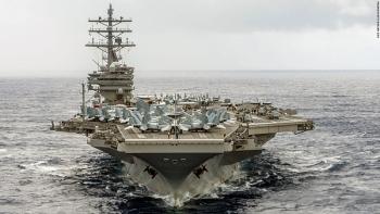Siêu tàu sân bay Mỹ có thể tới Hàn Quốc tập trận