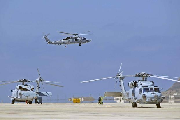 Hai trực thăng quân sự Mỹ đâm nhau tại căn cứ ở Nhật