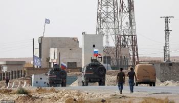 Quân đội Nga tiến hành tuần tra gần biên giới Thổ Nhĩ Kỳ