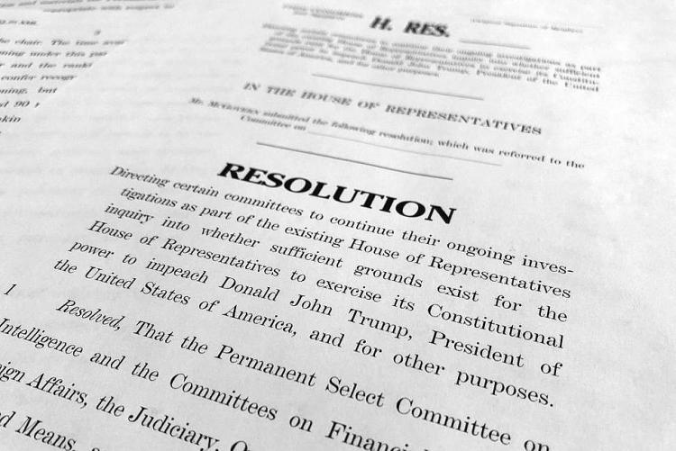 Hạ viện tiết lộ kế hoạch phiên điều trần luận tội Tổng thống Trump