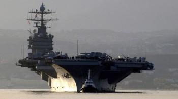 Mỹ đưa tàu sân bay tới Trung Đông đánh IS