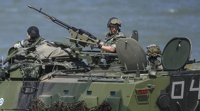 Lực lượng phản ứng nhanh NATO tập trận sát biên giới Nga