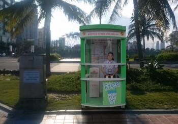 Đà Nẵng lắp đặt quầy phục vụ nước miễn phí