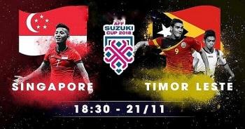 singapore 6 1 dong timor tran dau an nhan cua doi chu nha