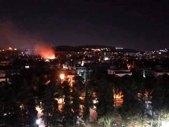 Quân đội Syria đánh chặn nhiều tên lửa tấn công thủ đô Damascus