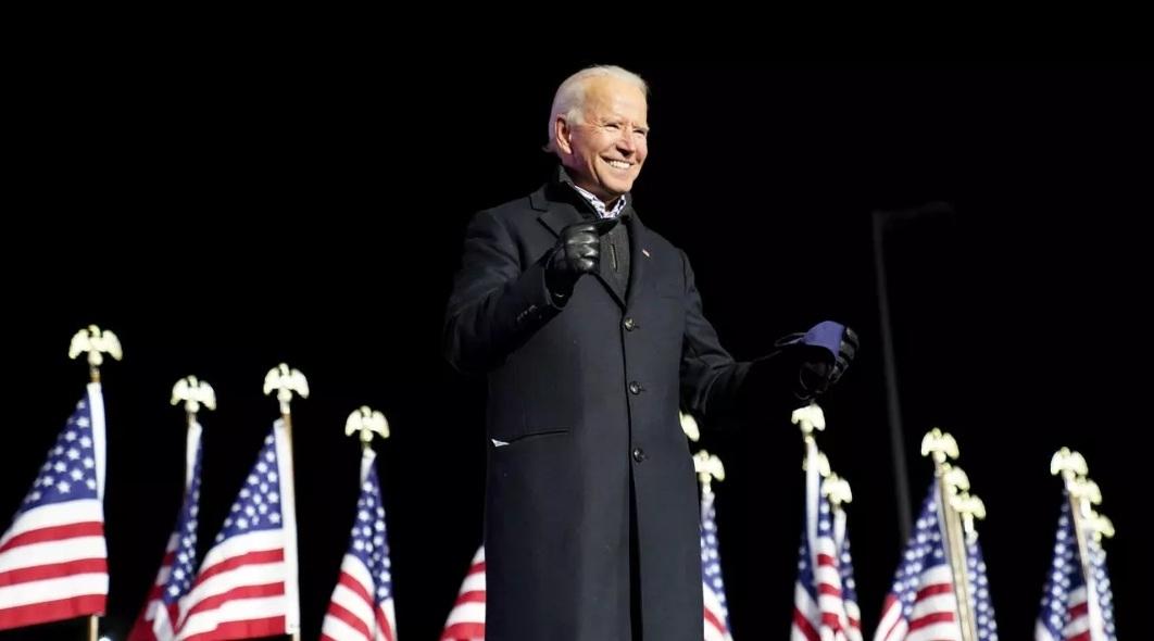 Tổng thống thứ 46 của Mỹ có bài phát biểu đầu tiên