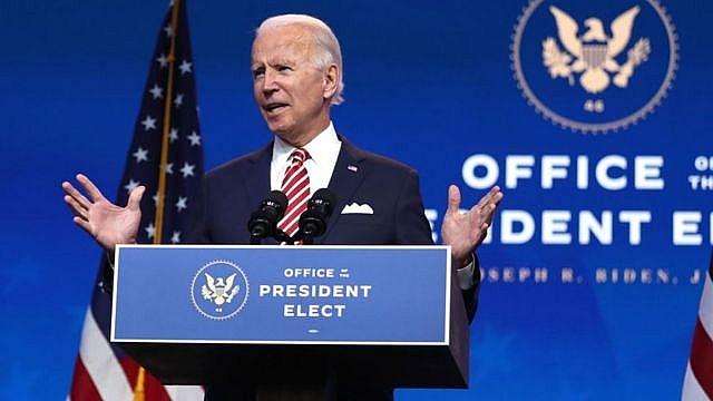 Tổng thống Mỹ đắc cử Joe Biden.