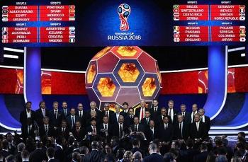 boc tham chia bang vong chung ket world cup 2018