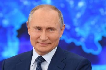 Ông Putin đạt mức tín nhiệm cao trong năm 2020