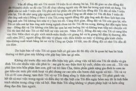 hiep si minh tien tung vu khong chuyen no tien cho cong an