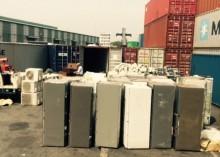 phat hien 13 container hang cam nhap qua canh vao viet nam