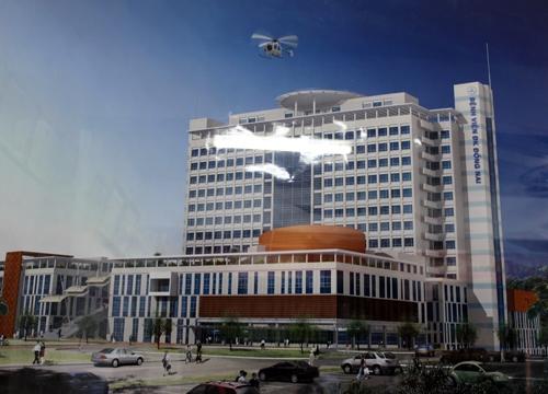 BV Đồng Nai sẽ sử dụng trực thăng để cấp cứu