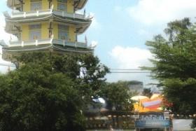 Cụ ông rơi từ tầng 7 của tháp trong chùa