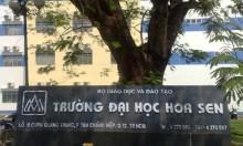 dai hoc hoa sen cam ket khong tang hoc phi trong 2 nam hoc
