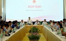 Họp báo sau 'Hội nghị Diên Hồng' về kinh tế