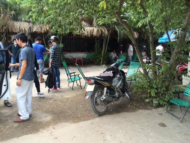 Dựng lại hiện trường vụ phóng viên Báo Giao Thông bị hành hung