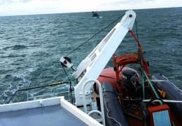 Cứu 9 thuyền viên tàu cá gặp nạn trên vùng biển Khánh Hòa