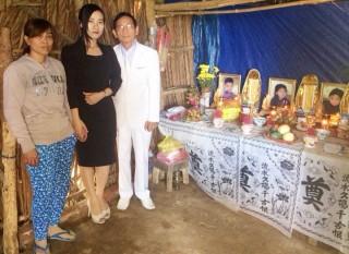 """""""Đại gia"""" Lê Ân hỗ trợ gia đình có 3 con chết đuối"""