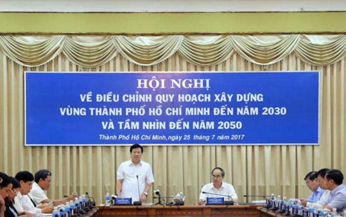 dieu chinh quy hoach xay dung vung tp hcm tam nhin den 2050