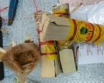 2 kg tiền chất ma túy ẩn trong đường thốt nốt
