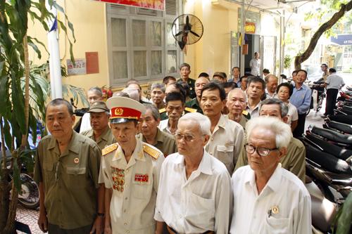 TP HCM: Hội Cựu chiến binh tổ chức lễ viếng Đại tướng Võ Nguyên Giáp