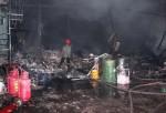 TP HCM: Cháy kho chứa hóa chất rộng hơn 1.000m2